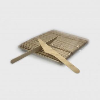 Nóż z drewna EKO 100 szt.