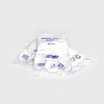 Rękawice foliowe HDPE 100 szt.